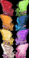 Single colour silkies OPEN (7/8)
