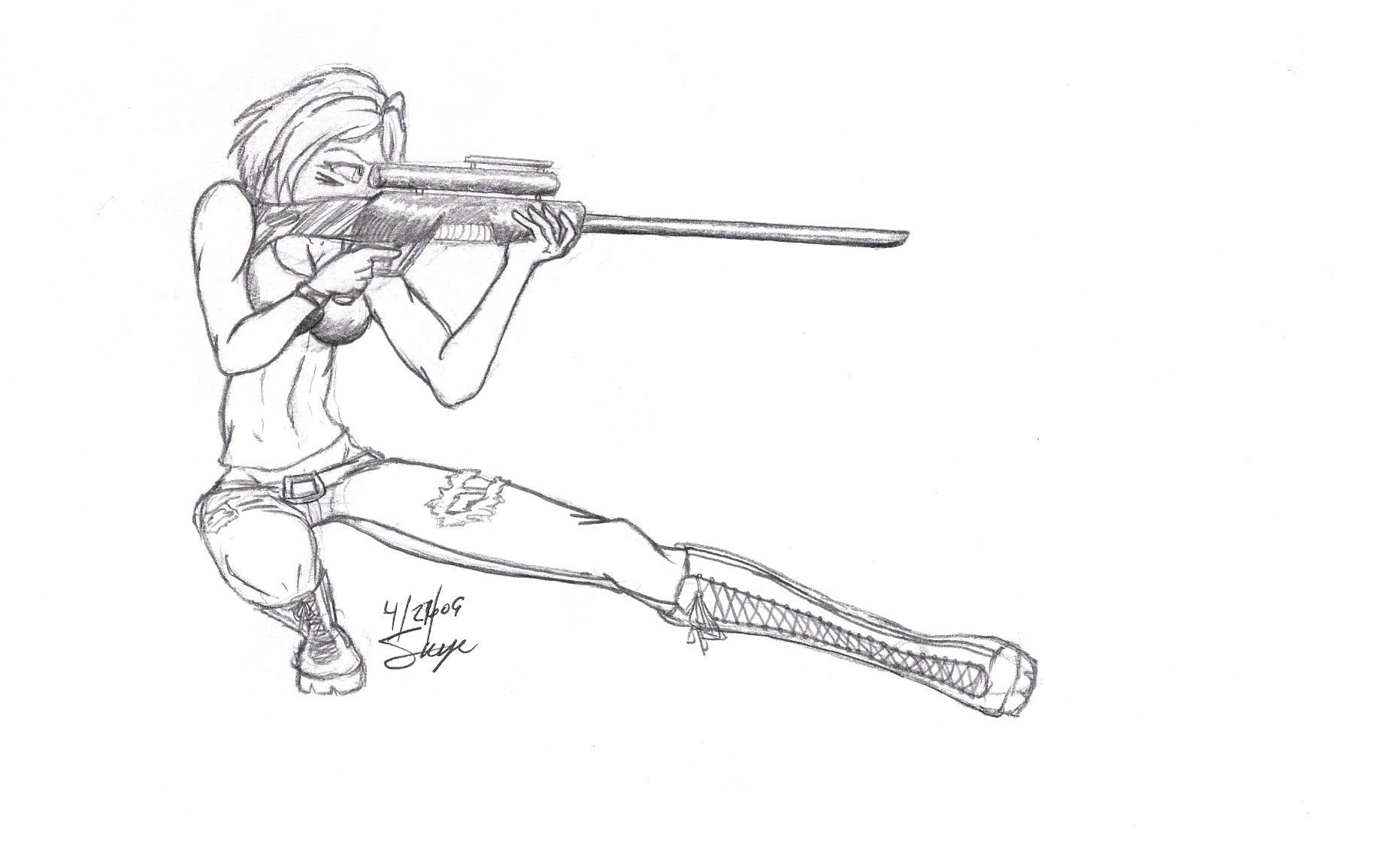 Sniper by Skye-Misanagi