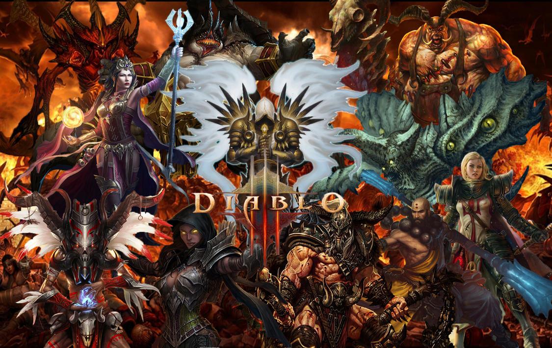 Diablo 3 Wallpaper By Drazzkip