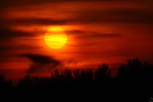 Sun Meets Earth by Draken413o