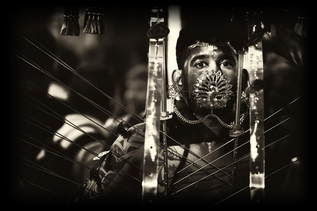 Portrait of Pain by Draken413o