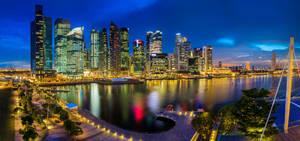 Marina Bay Singapore by Draken413o