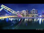 Alkaff Bridge Panorama