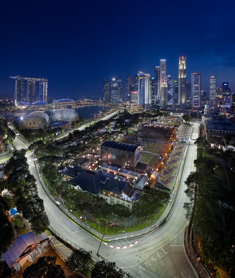 Singapore Street Circuit by Draken413o