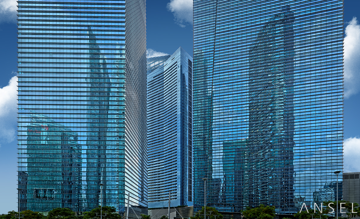 City In Glass City by Draken413o