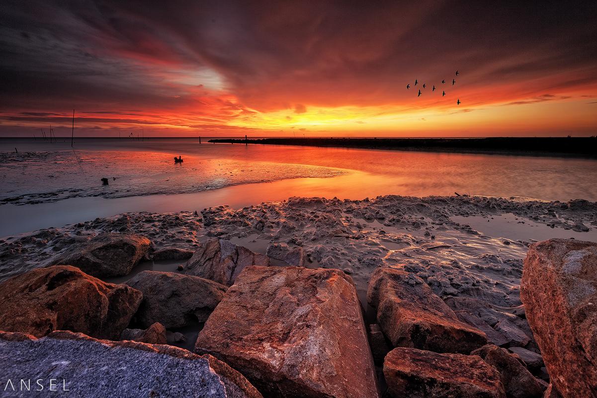 Sungai Burung by Draken413o