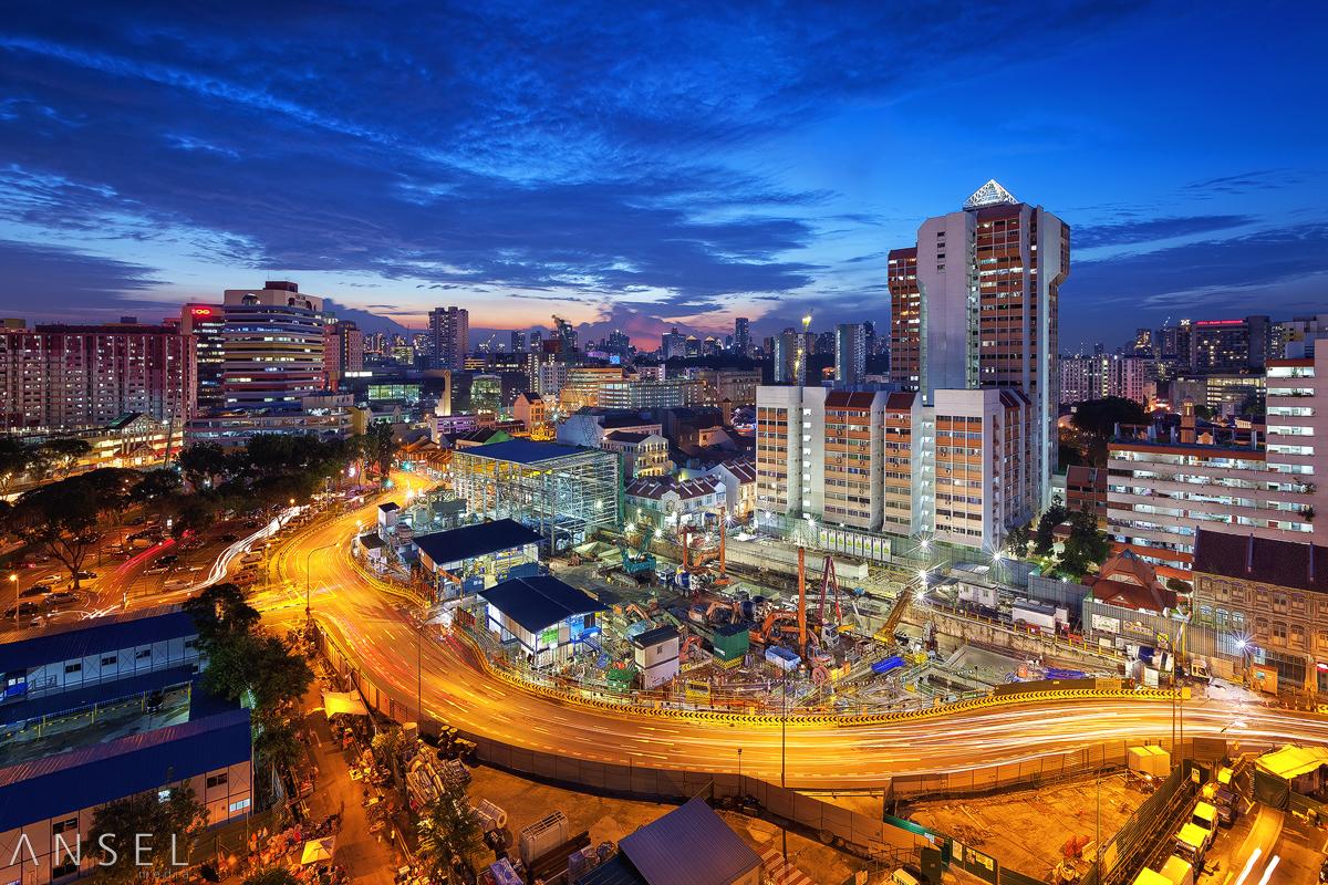 Works along Jalan Besar by Draken413o