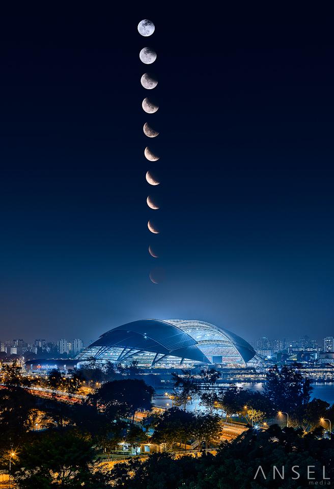 Lunar Eclipse 2014 by Draken413o