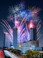 D'leedon fireworks by Draken413o