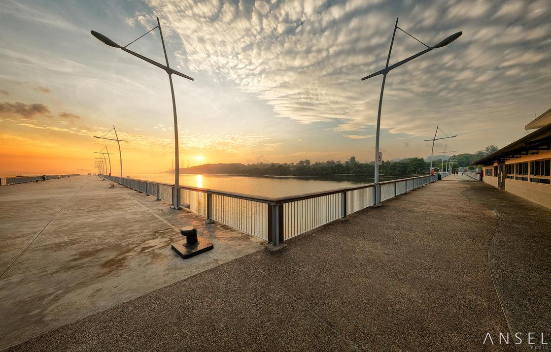 Waterfront Symmetry by Draken413o