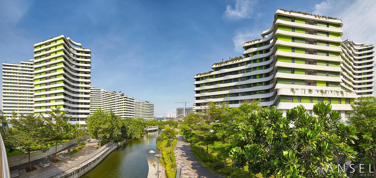 Punggol waterway terraces by draken413o on deviantart for Waterway terrace 2