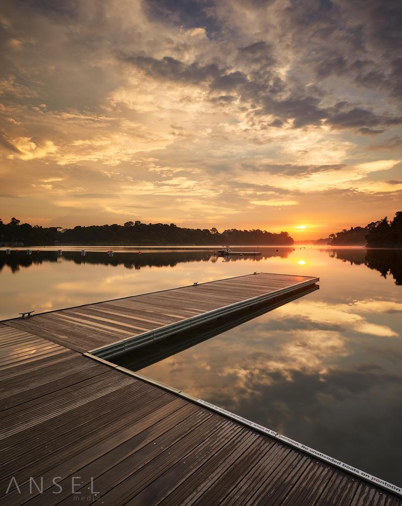 Path to Self Reflection by Draken413o
