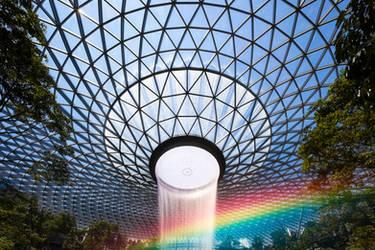 Rainbow Vortex by Draken413o