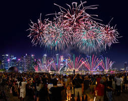 NDP 2019 NE1 fireworks