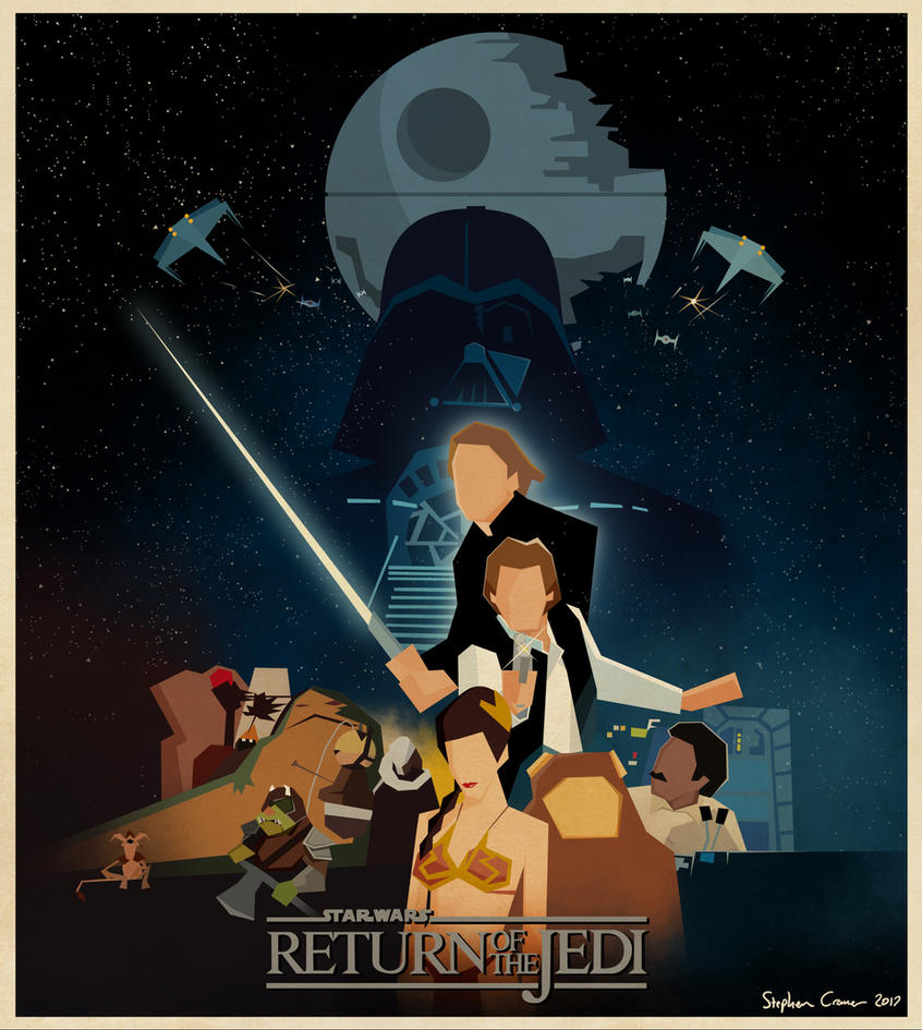 Return of the Jedi poster by Cranimation