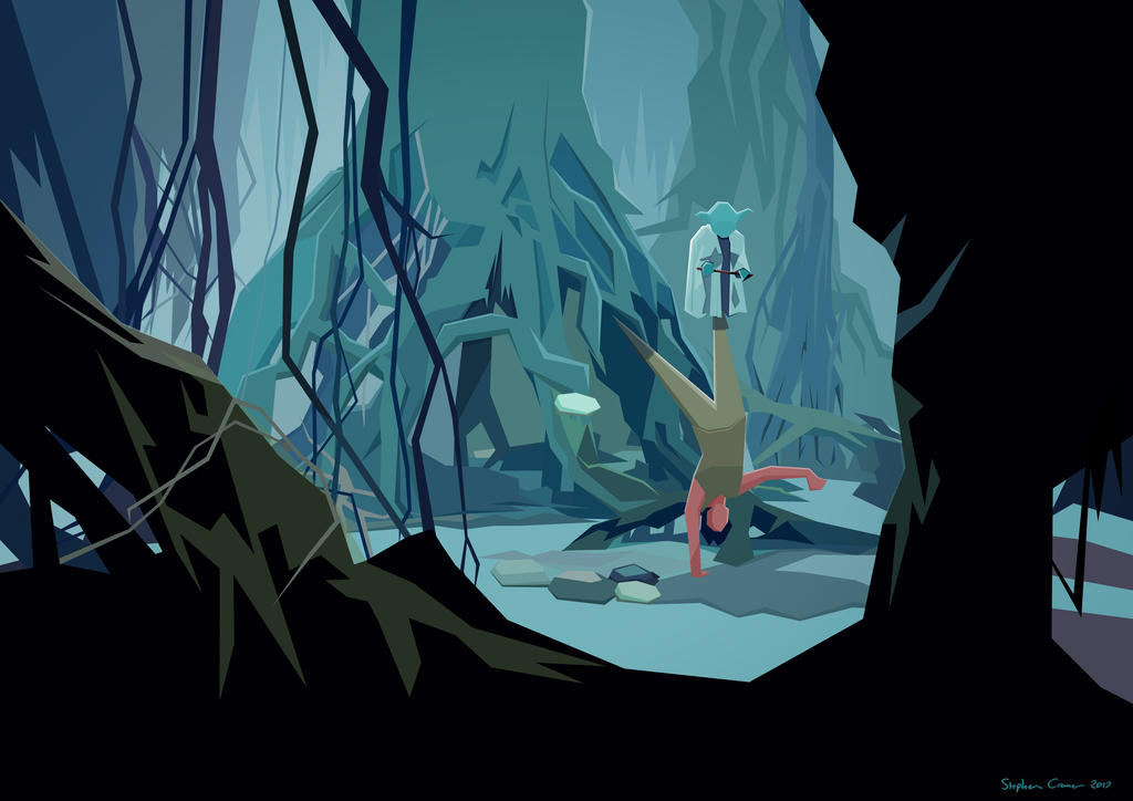 Training on Dagobah by Cranimation