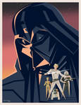 Star Wars poster (based on Ralph McQuarrie)