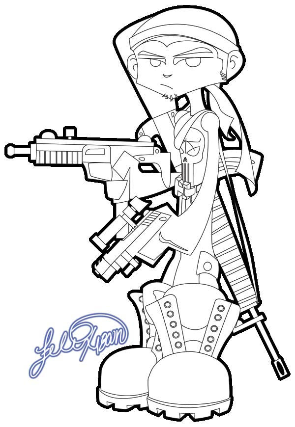 the punisher coloring pages - the punisher by felix1800n on deviantart