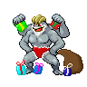 Machamp (Christmas) by BladesOnToast