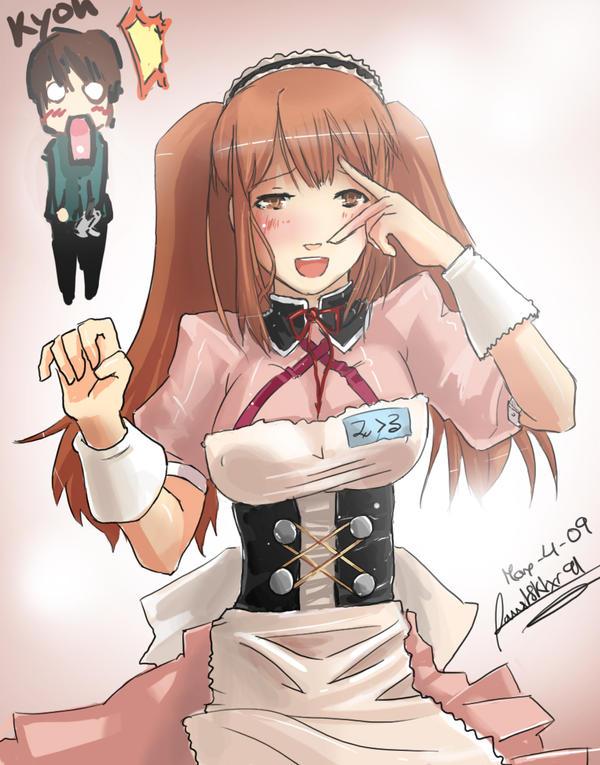 Asahina Mikuru fanart by faustsketcher