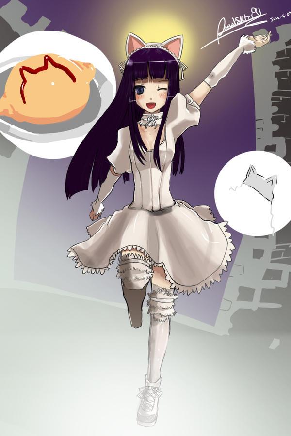 Hazuki by faustsketcher