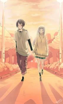 Walk on together