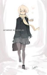 Winter Uniform by faustsketcher