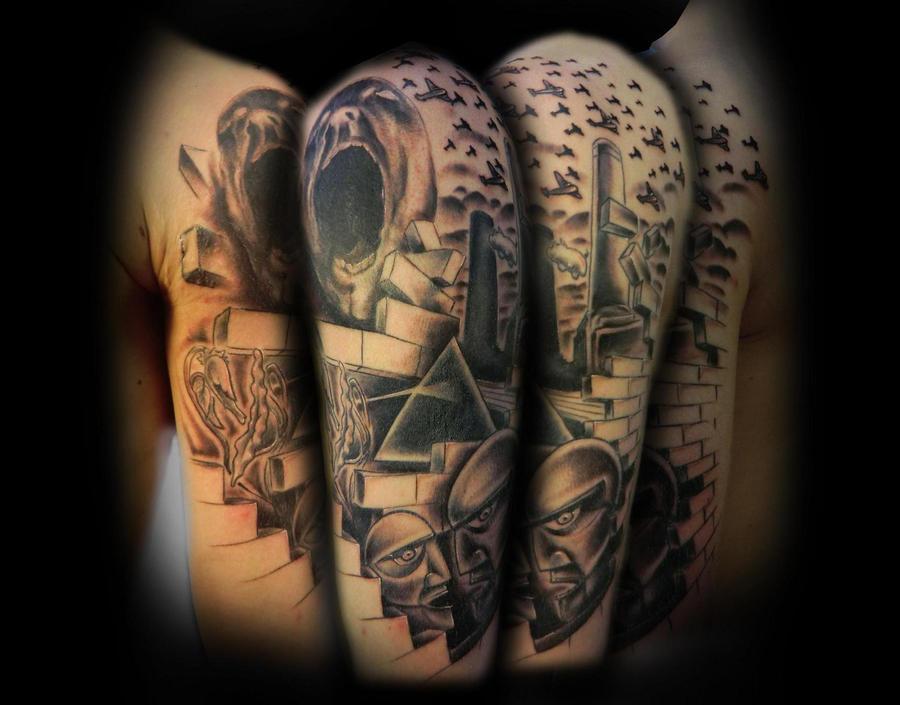 35 stunning wall tattoos slodive