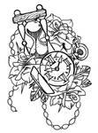 Old School Tattoo Trace