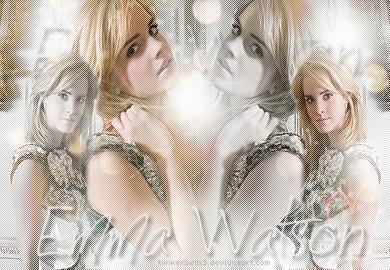 Emma Watson Blend2 by Tiinkerbellx3