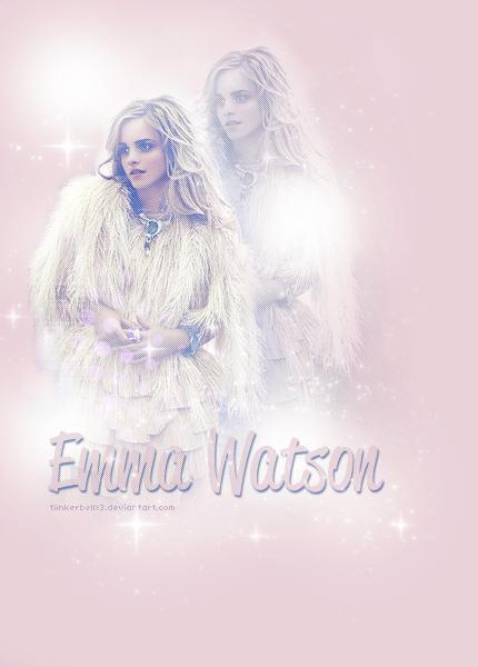 Emma Watson Twitter BG by Tiinkerbellx3