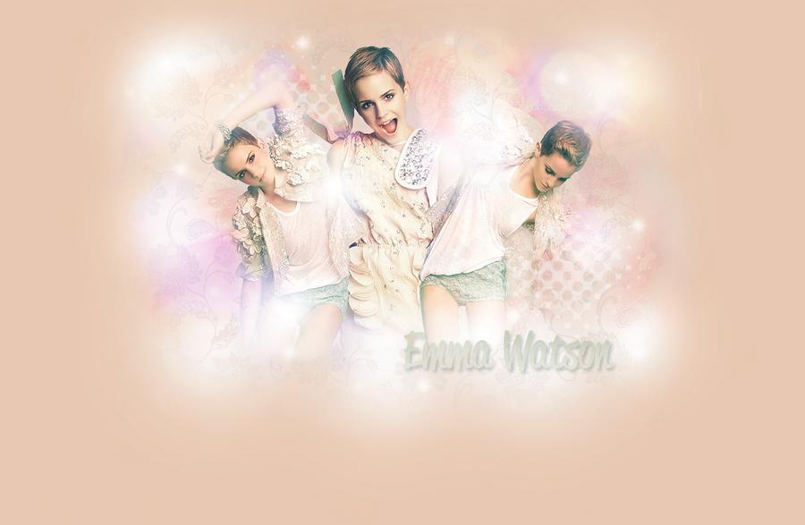 Emma Watson Wallpaper by Tiinkerbellx3