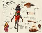 Smite Izanami Skin (Aboriginal)