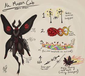 Smite Ah Muzen Cab Skin (Mothman)