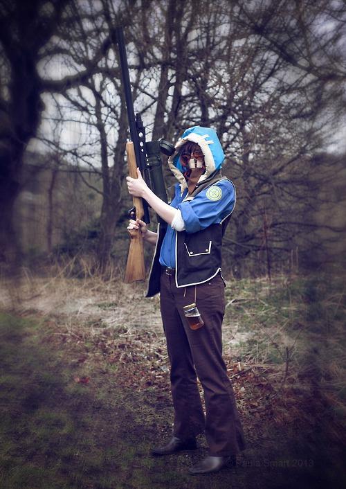 Blu Sniper by ButtStallion
