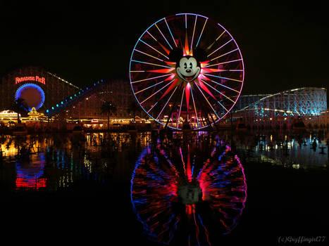 Night at Paradise Pier
