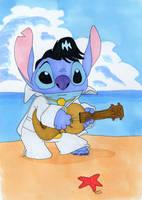 Stitch is a Hunka Hunka Burnin Love by Gryffingirl77