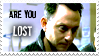 Are You LOST - Stamp by bewarecalamity