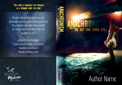 Anachronism - Premade Book Cover