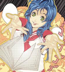 Cartel salon manga XVII by Balust