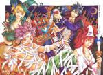 Fairy Tail halloween 2012
