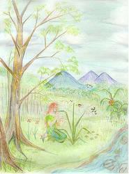 A Musical fairy by metta