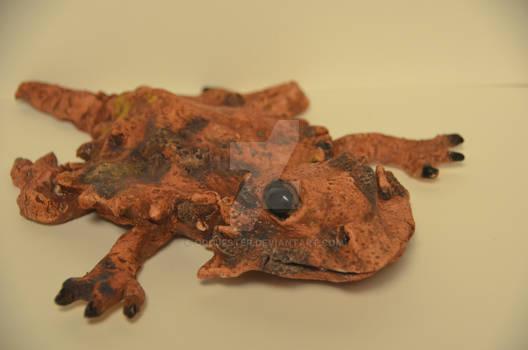 Child safe horned toad