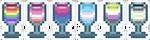 F2U Pride Drinks~! by hellraisins
