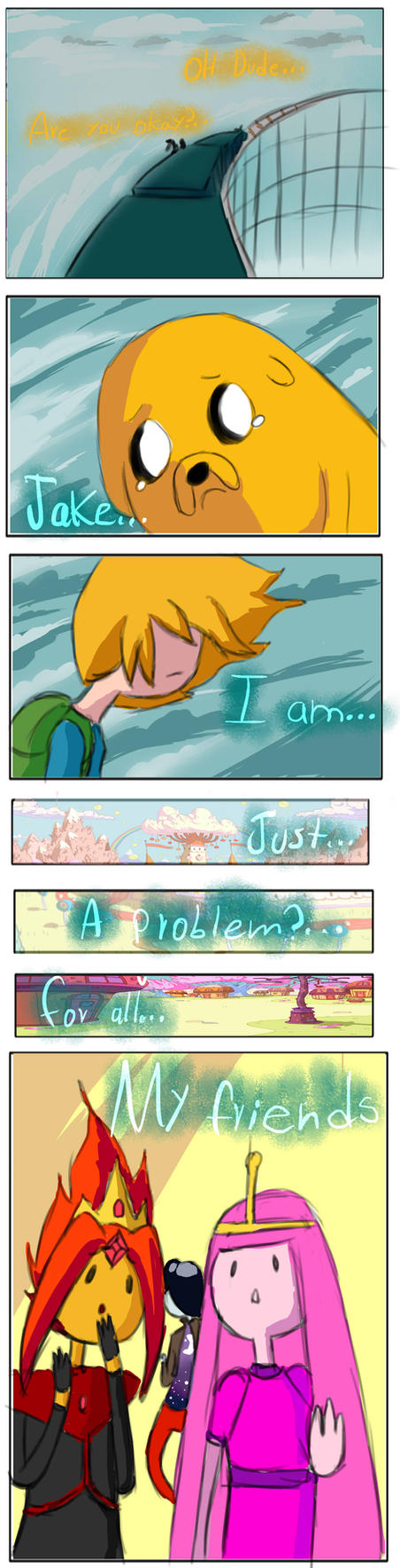 Adventure time mini-comic:Another me part 1 by hadescryushiu