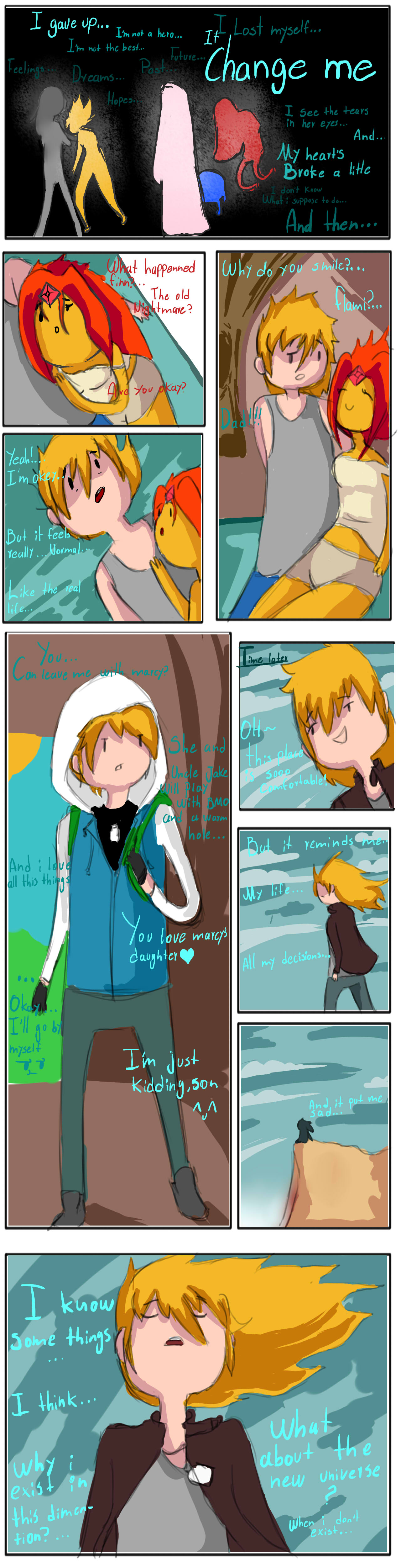 Adventure time mini-comic:Another me part 2 by hadescryushiu