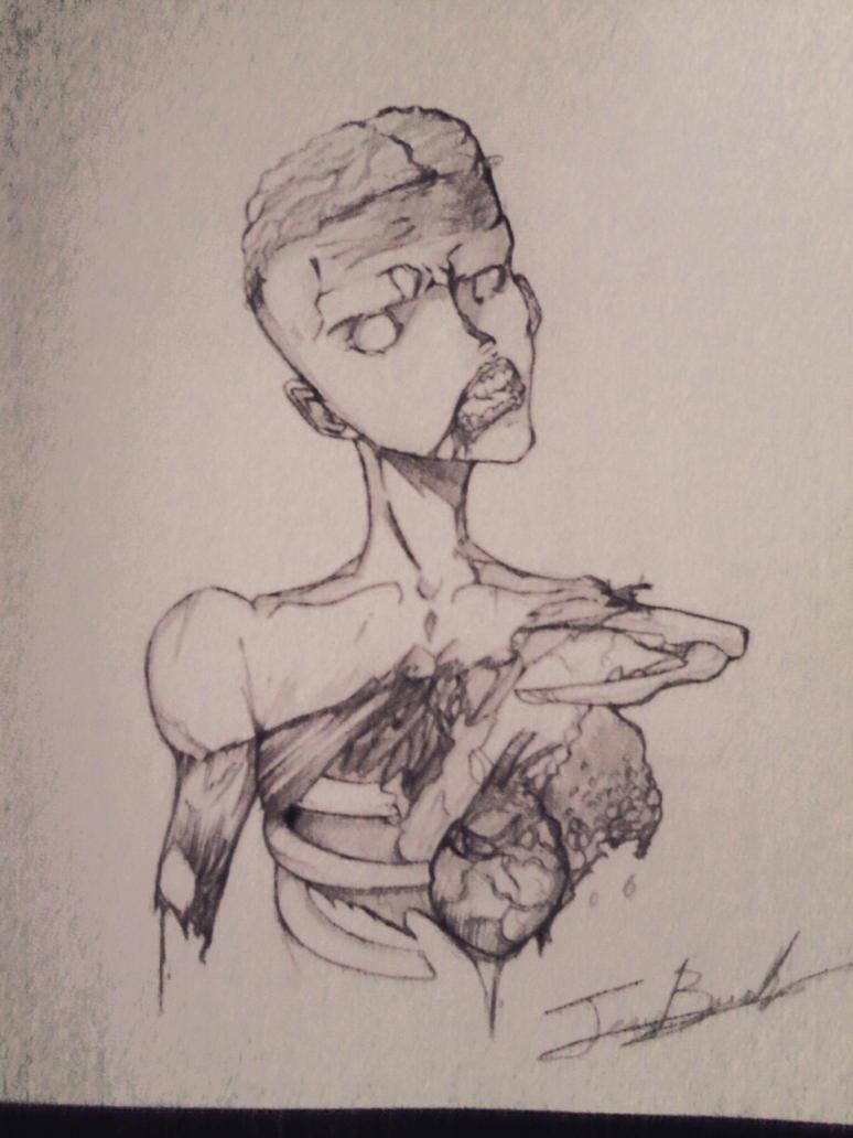 Zombie by hadescryushiu
