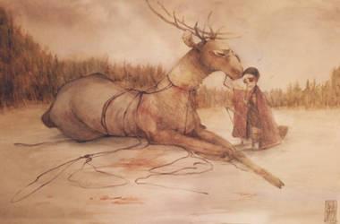 Pinnocha illustration by Russalad