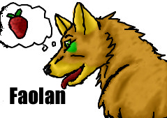 Faolan: Iscribble by saphariadragon