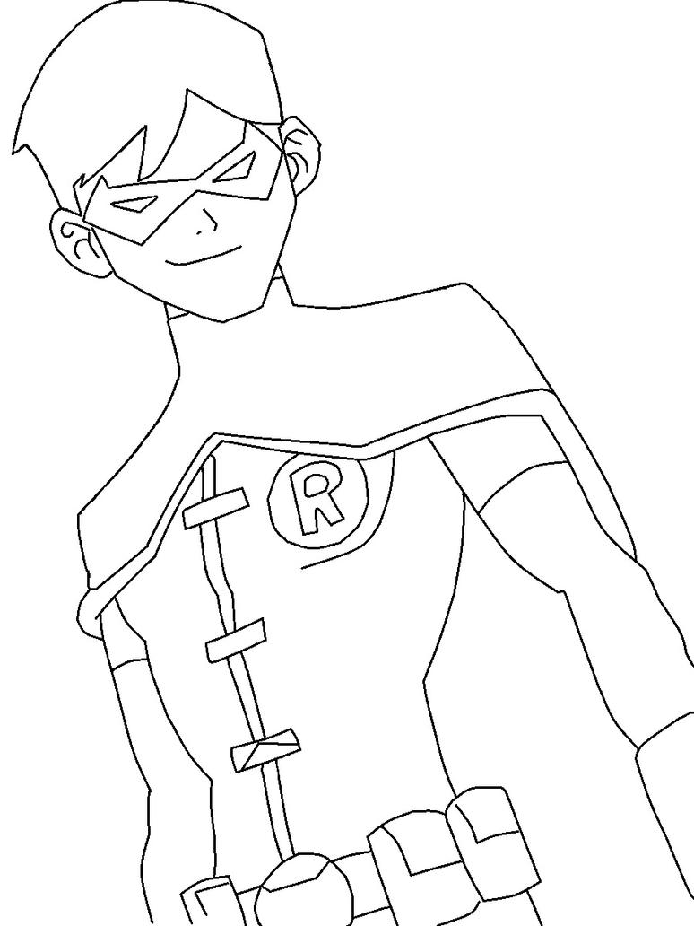 Young Justice League Coloring Pages Justice Superboy Coloring Pages Free